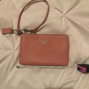 Light pink, Coach wristlet